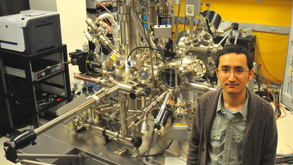 UNL physicists chart atomic activity of superior solar-cell material