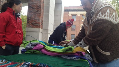 A fall tradition: Alpaca goods return to campus