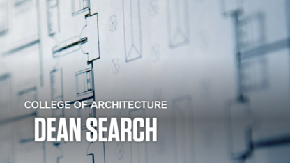 Second architecture dean finalist to host forum