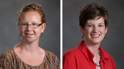 Jagodinsky, Ramer-Tait honored with junior faculty awards