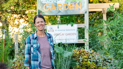 Powers cultivates sense of community at Backyard Farmer Garden