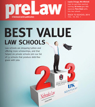 National Jurist names law college No. 2 best value