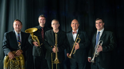 Brass quintet performance is March 25