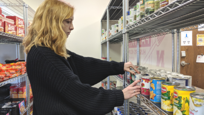 Campus pantry sees growth, impact nearly two years after opening