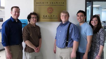 Speech, debate team returns from China