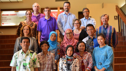 IANR hosts USDA fellows from Indonesia