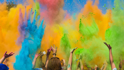 April 2 color festival to celebrate start of spring