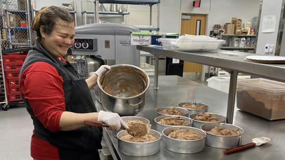 Made to order: Cather baker brings five-star confections to students