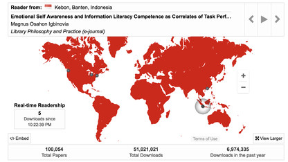 Digital Commons a national leader with 50-million downloads