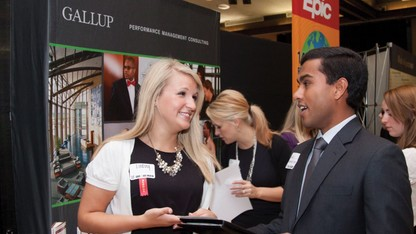 Fall career fairs set for arena, campus locations