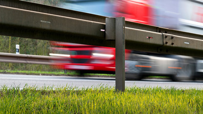 Take an inch, give a mile: Higher roadside barriers show promise