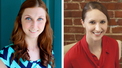 Hall, Schmitz earn Presidential Graduate Fellowships