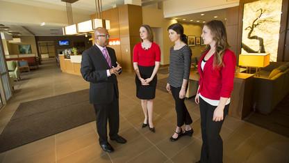 Jha helps Nebraska City's tourism efforts