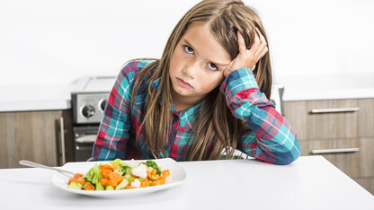 Research digesting why children, vegetables don't always mix