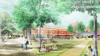 Events to kick off Learning Commons construction