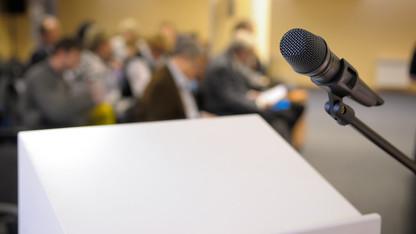 Speaker funding applications due by Nov. 1