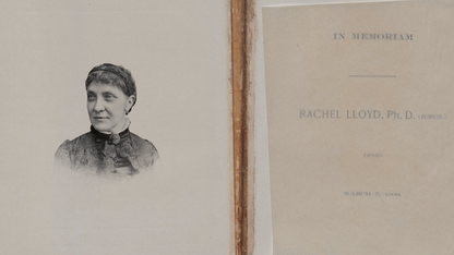 Time capsule yields rare manuscript on pioneering female chemist