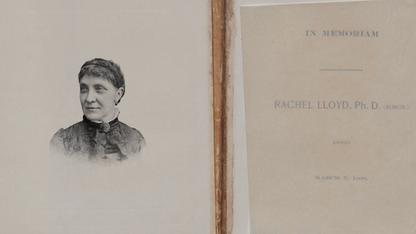 Time capsule yields rare manuscript on pioneering female chemist