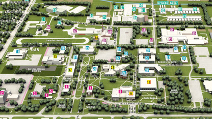 Updated campus maps available