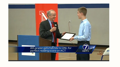 In the news: UNL offers Omaha 8th-grader full scholarship
