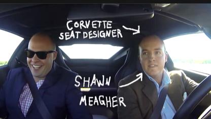 UNL grad innovates to create new 'Vette seat