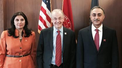UNL hosts Omani officials