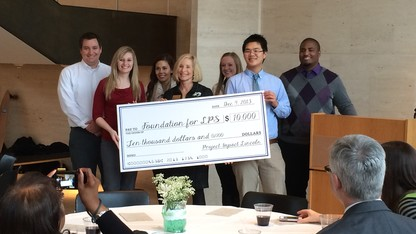CBA class awards $10K to local nonprofit