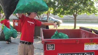 Volunteers needed for game day recycling program