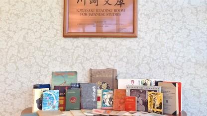 Bleed donates books to Kawasaki Reading Room