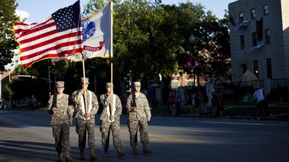 Nine ROTC cadets to receive military commissions