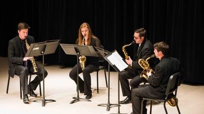 Saxophone ensemble concert Nov. 14