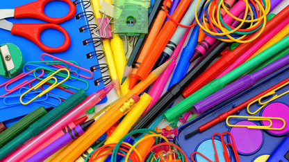 Grad students organize school supply drive