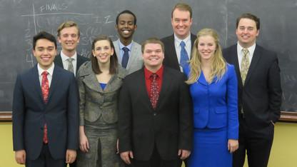 Achievements | Speech and debate team earns fourth Big Ten title
