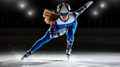 Olympic-level speed skaters are made, not born