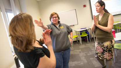 Spanish class uses theater techniques to hone skills