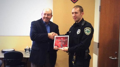 Eckel named UNLPD's Officer of the Year