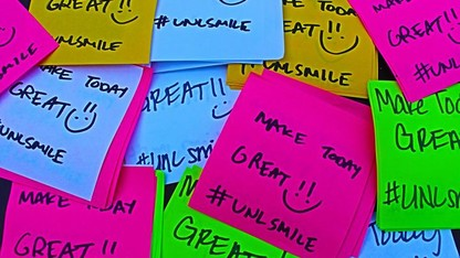 UNL SMILE spreads positivity on campus