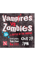 Undead battle featured in Oct. 29 SciPop debate