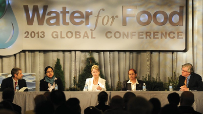 Harnessing data is focus of Water for Food conference