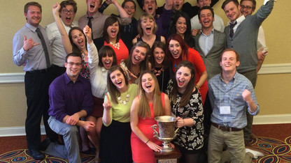 Journalism team competes for national title