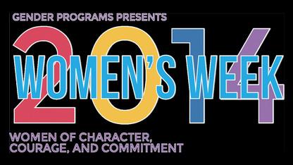 Women's Week events open