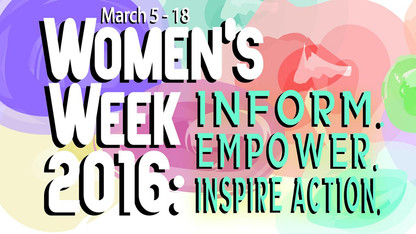 Women's Week events open March 5