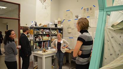 Art students open studios to public