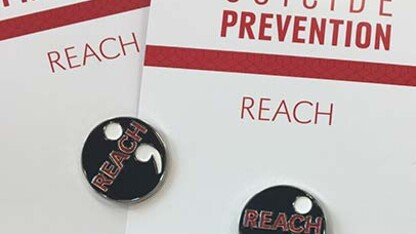 REACH and QPR Suicide Prevention Gatekeeper training available