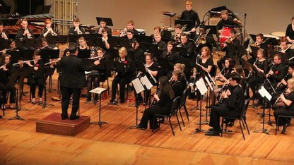 Symphonic Band performs 'In the Groove' April 26