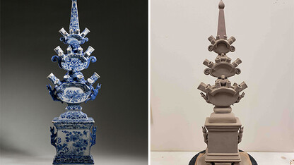 'Making History' ceramics exhibition opens Nov. 9
