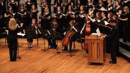 Evening of Choirs performance is Oct. 13