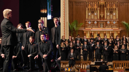 Afternoon of Choirs concert is March 14