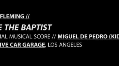 Jesse Fleming // Jane The Baptist (EXCERPT) // with original musical score // Miguel De Pedro (Kid 606)// at Five Car Garage, LA