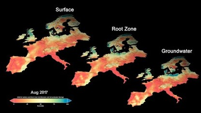 Global Maps of Dryness Help Prepare for Water Use Around Globe